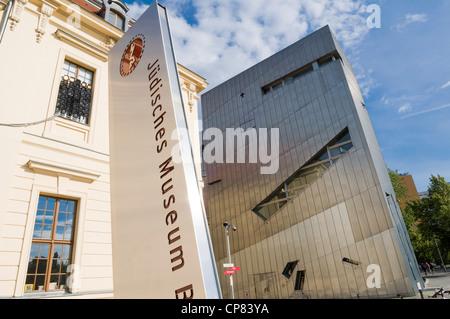 Jüdisches Museum, Berlin, Deutschland Stockbild