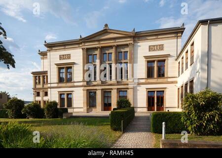 Saarländischer Landtag, Saarbrücken, Saarland, Deutschland, Europa Stockbild