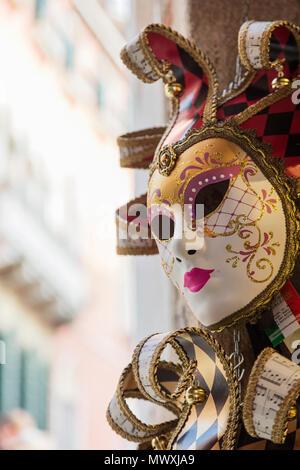 Karneval in Venedig, Venedig, UNESCO-Weltkulturerbe, Venetien, Italien, Europa Stockbild