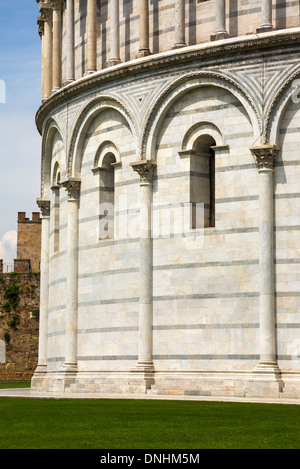 Baptisterium des Heiligen Johannes, Piazza Dei Miracoli, Pisa, Toskana, Italien Stockbild