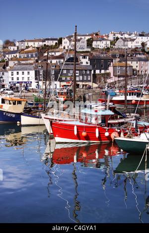 Mevagissey, Cornwall, Südwestengland, England, Vereinigtes Königreich Stockbild