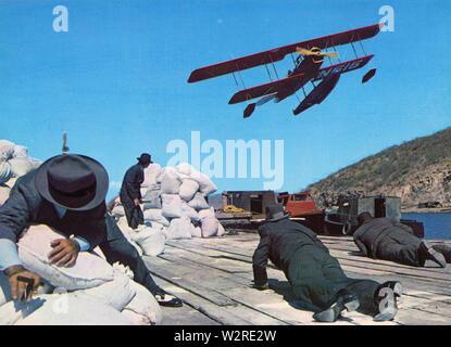 LUCKY LADY 1975 Twentieth Century Fox Film Stockbild