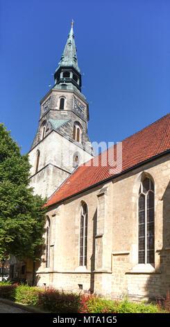 Kreuzkirche Kirche, Hannover, Niedersachsen, Deutschland, Europa ich Kreuzkirche, Hannover, Niedersachsen, Deutschland, Europa Stockbild