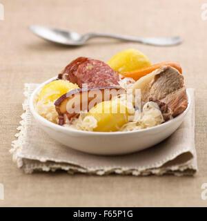 Sauerkraut Stockbild