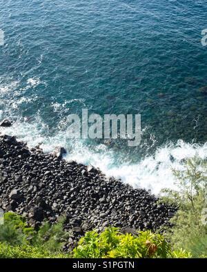 Maui Küste Stockbild