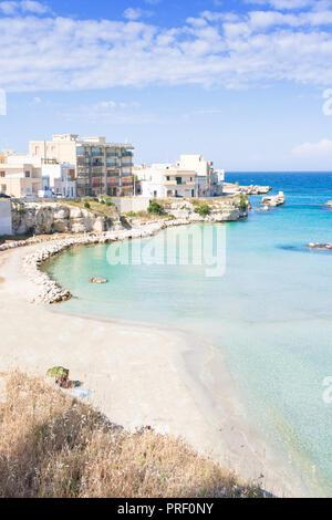 Otranto, Apulien, Italien - Gefühl der entspannten Lebensstil von Otranto in Italien Stockbild