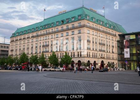 Kempinski Hotel Adlon am Pariser Platz, Berlin, Deutschland Stockbild