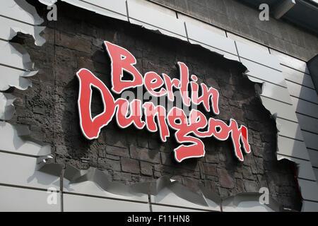 Berlin dungeon Stockbild