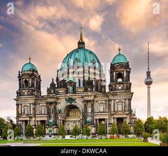 Kathedrale von Berlin, Deutschland. Stockbild