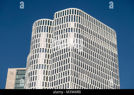 Upper West Zoofenster, Atlas Tower, Breitscheidplatz, City West, Berlin, Deutschland Stockbild