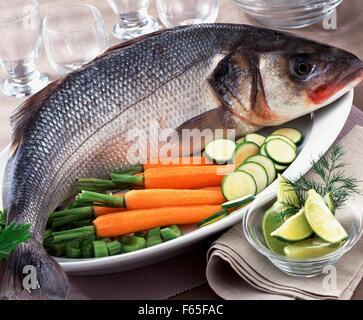 Ganze bass Stockbild