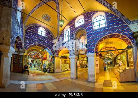 Basar, Istanbul, Türkei Stockbild