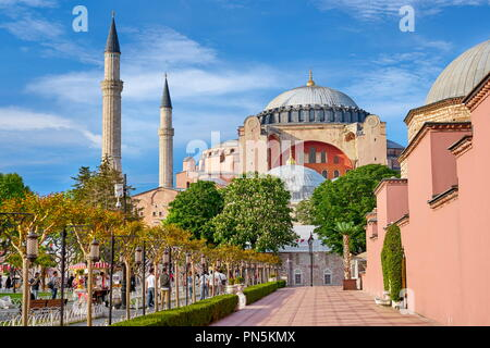 Die Hagia Sophia, Ayasofya, Istanbul, Türkei Stockbild