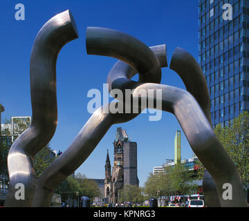 Die Berliner Skulptur, Berlin, Deutschland Stockbild