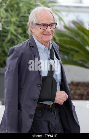 Ken Loach, 2019, Cannes Stockbild