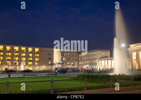 Pariser Platz, Berlin, Deutschland Stockbild