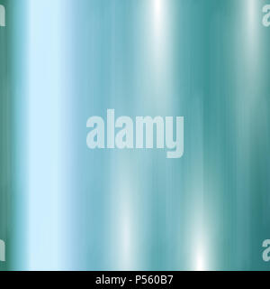 Abstrakte gebürstetes Metall Hintergrund in Teal Farbe Stockbild