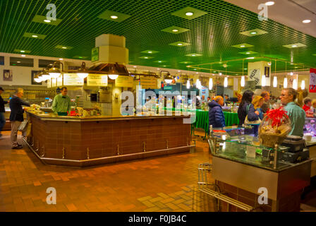 Rogacki, Markthalle, Charlottenburg, Berlin, Deutschland Stockbild