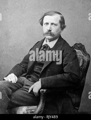 MARCELLIN BERTHELOT (1827-1907), französischer Chemiker Stockbild