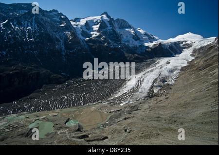 Österreich/carynthia - Österreich premier Bergkulisse: Großglockner und pasterze Glacier Berg im Stockbild