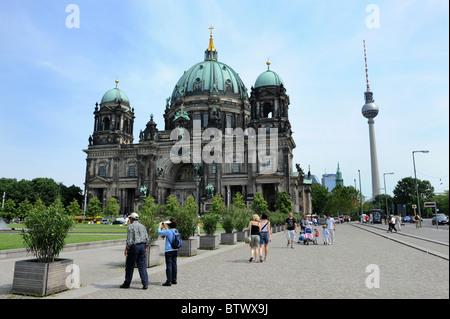 Berliner Dom Berlin Deutschland Deutschland Europa Stockbild