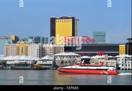 Volksrepublik China (Special Administrative Region), Hong Kong Island Stockbild