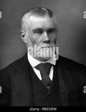 GEORGE TREVELYAN (1838-1928) der britischen liberalen Politiker, Staatsmann und Historiker Stockbild