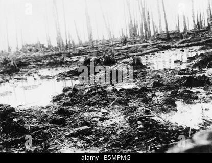 9 1916 3 18 A1 8 E Schlacht von Postawy 1916 Schlachtfeld des 1. Weltkrieges östlichen vorderen Niederlage Stockbild