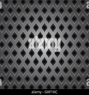 Abstrakte Metall Hintergrund. Vektor-Illustration. Stockbild