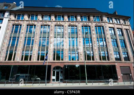 Außenseite der australischen Botschaft in Berlin Deutschland Stockbild