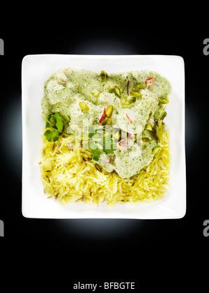Pistazien curry Stockbild
