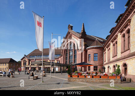 Hauptbahnhof, Osnabrück, Niedersachsen, Osnabrück, Deutschland, Europa ich Hauptbahnhof, Osnabrück, Niedersachsen, Osnabrück, Deutschland, Europa Stockbild