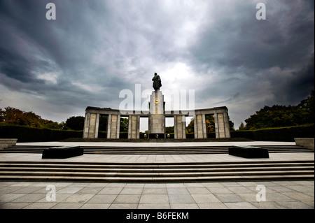 Sowjetischen Ehrenmal, Berlin, Deutschland, Europa Stockbild