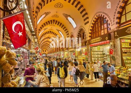 Ägyptischen Basar, Istanbul, Türkei Stockbild