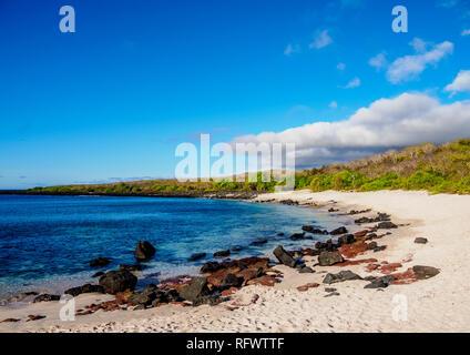 Baquerizo Beach, San Cristobal (Chatham) Island, Galapagos, UNESCO-Weltkulturerbe, Ecuador, Südamerika Stockbild