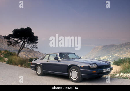 1989 Jaguar XJS R in Frankreich Stockbild