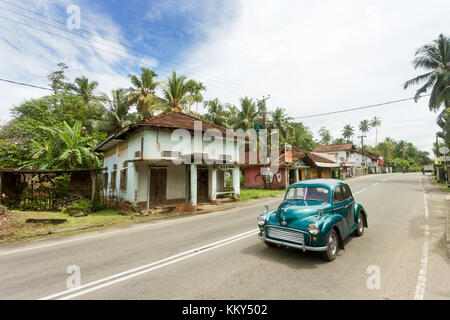 Old-Timer, Ahungalla, Sri Lanka, Asien Stockbild