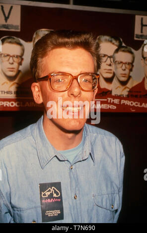 Die verkündiger Scottish Pop Duo mit Charlie Reid über 1988 Stockbild