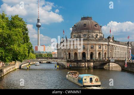 Europa, Bode-Museum, Museum Island (Museumsinsel), Berlin, Deutschland Stockbild
