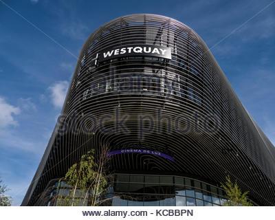 Southampton, Hampshire england West Quay Stockbild