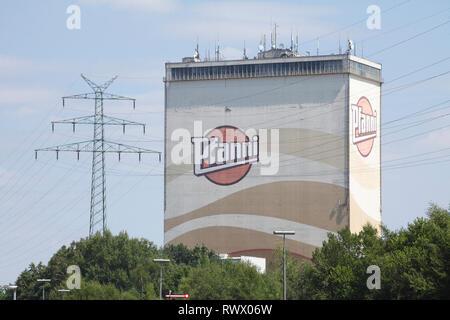 Pfanni Fabrik, Cloppenburg, Niedersachsen, Deutschland, Europa ich Pfanni-Werk, Cloppenburg, Niedersachsen, Deutschland, Europa i Stockbild