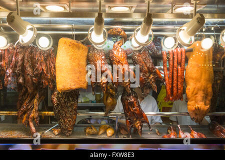 Marina Bay, Food-Center, Rasapura Meister, chinesisches Essen, Enten, travelstock44, Southest Asien, Singapur, Singapur Stockbild