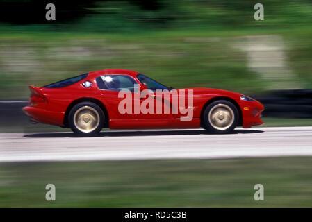 1993 Dodge Viper Coupé's in Florida, USA. Stockbild