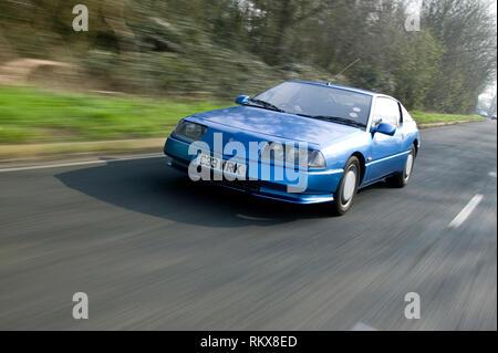 1985 Alpine Renault GTA Stockbild