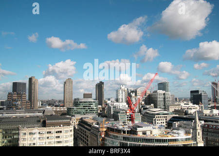 Skyline von London Stockbild