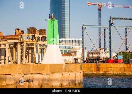 Hafen, Barcelona, Katalonien, Spanien Stockbild