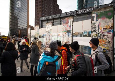 Berlin Dezember 2015 Stockbild