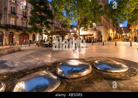 Bordeaux, Frankreich Stockbild