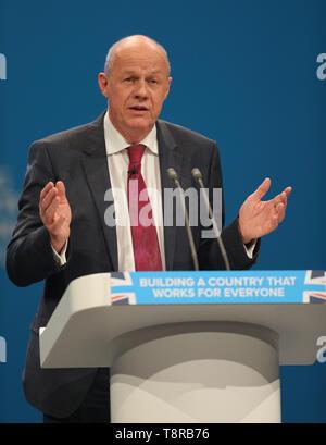 DAMIEN GRÜN MP, 2017 Stockbild