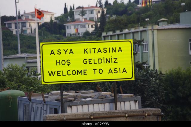 Zwischen und istanbul asien europa grenze in Faszinierende Türkei